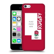 Custom Customised Personalised England Rugby Union 2016/17 Rugby Design Hard Back Case For Apple Iphone 5C