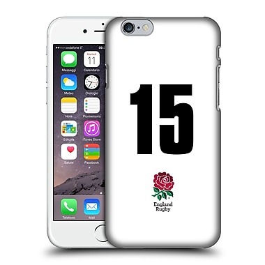 Official England Rugby Union 2016/17 Home Kit Position 15 Hard Back Case For Apple Iphone 6 / 6S