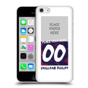 Custom Customised Personalised England Rugby Union 2016/17 1871 Design Hard Back Case For Apple Iphone 5C