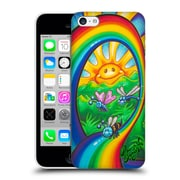 Official Drew Brophy Surf Art Rainbow Ride Hard Back Case For Apple Iphone 5C