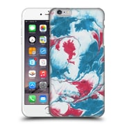 "Official Julien ""Corsac"" Missaire Abstract 4 Marbled Paint Red Blue Hard Back Case For Apple Iphone 6 Plus / 6S Plus"