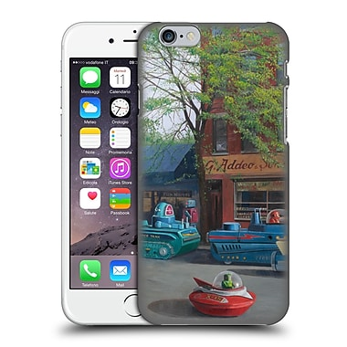 Official Eric Joyner Robo Shop Heavy Traffic Hard Back Case For Apple Iphone 6 / 6S