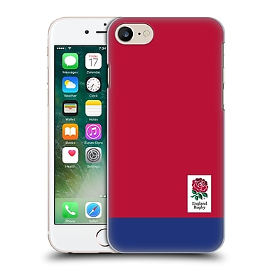 Official England Rugby Union 2016/17 The Rose Colour Block Hard Back Case For Apple Iphone 7