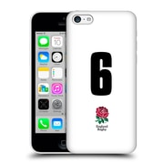 Official England Rugby Union 2016/17 Home Kit Position 6 Hard Back Case For Apple Iphone 5C