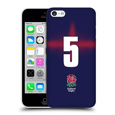 Official England Rugby Union 2016/17 Alternate Kit Position 5 Hard Back Case For Apple Iphone 5C