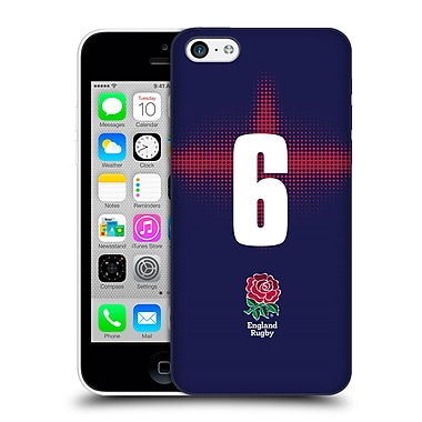 Official England Rugby Union 2016/17 Alternate Kit Position 6 Hard Back Case For Apple Iphone 5C