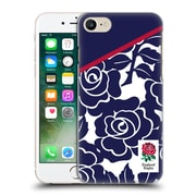 Official England Rugby Union 2016/17 Patterns Navy Rose Hard Back Case For Apple Iphone 7