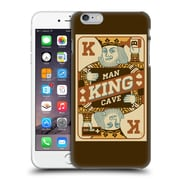 Official Lantern Press Man Cave King Card Hard Back Case For Apple Iphone 6 Plus / 6S Plus