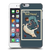 Official Lantern Press Man Cave Man'S Bestfriend Hard Back Case For Apple Iphone 6 Plus / 6S Plus
