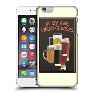 Official Lantern Press Man Cave At My Age I Need Glasses Hard Back Case For Apple Iphone 6 Plus / 6S Plus