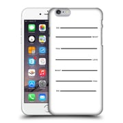 Official Efty Quotation Do What You Love Hard Back Case For Apple Iphone 6 Plus / 6S Plus
