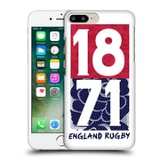 Official England Rugby Union 2016/17 The Rose 1871 Hard Back Case For Apple Iphone 7 Plus