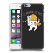 Official Dinomike Fun Illustrations Space Sucks Hard Back Case For Apple Iphone 6 / 6S