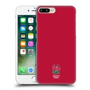 Official England Rugby Union 2016/17 The Rose Plain Red Hard Back Case For Apple Iphone 7 Plus