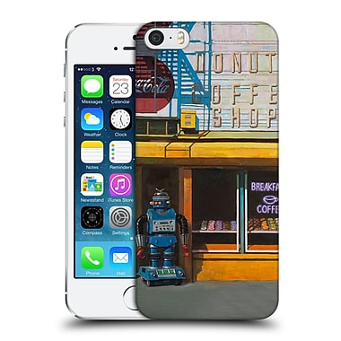 Official Eric Joyner Robo Shop Blue Zeroid Hard Back Case For Apple Iphone 5 / 5S / Se