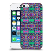 Official Amy Sia Tribal Patchwork Pink 2 Hard Back Case For Apple Iphone 5 / 5S / Se
