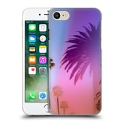 Official Elena Kulikova Tropical Palm Tree Sunset Hard Back Case For Apple Iphone 7