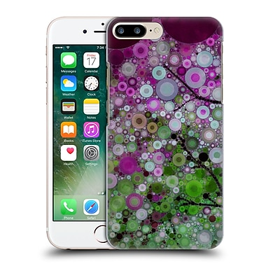 Official Olivia Joy Stclaire Circles Positive Energy Purple Shades Hard Back Case For Apple Iphone 7 Plus