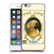 Official Lantern Press Dog Collection Pug Life Hard Back Case For Apple Iphone 6 Plus / 6S Plus