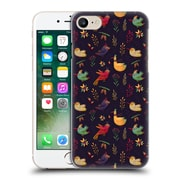 Official Oilikki Animal Patterns Birdies Hard Back Case For Apple Iphone 7
