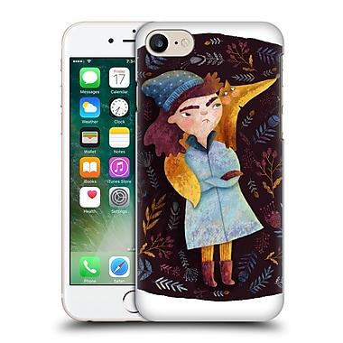 Official Oilikki Animals Fox Hard Back Case For Apple Iphone 7
