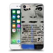 Official Orphan Black Posters Clone Club Hard Back Case For Apple Iphone 7