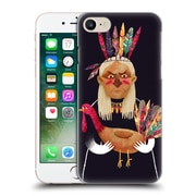 Official Oilikki Animals Native American Hard Back Case For Apple Iphone 7