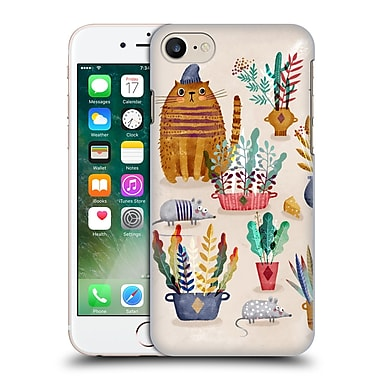 Official Oilikki Animals Mouse And Cat Hard Back Case For Apple Iphone 7