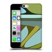 Official Magdalena Hristova Clean Lines 3 Green 4 Hard Back Case For Apple Iphone 5C
