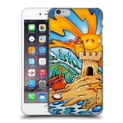 Official Drew Brophy Surf Art Sand Castle Hard Back Case For Apple Iphone 6 Plus / 6S Plus