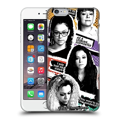 Official Orphan Black #Cloneclub Portraits Hard Back Case For Apple Iphone 6 Plus / 6S Plus