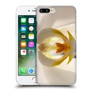 Official Elena Kulikova Orchids White 1 Hard Back Case For Apple Iphone 7 Plus
