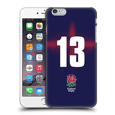 Official England Rugby Union 2016/17 Alternate Kit Position 13 Hard Back Case For Apple Iphone 6 Plus / 6S Plus