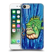 Official Drew Brophy Surf Art 2 Wormy And Stan Hard Back Case For Apple Iphone 7