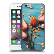 Official Olivia Joy Stclaire On The Table Orange Tulips Hard Back Case For Apple Iphone 6 / 6S