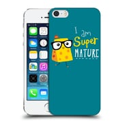 Official Dinomike Fun Illustrations Super Mature Hard Back Case For Apple Iphone 5 / 5S / Se