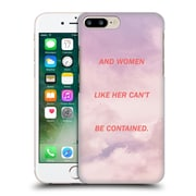 Official Efty Quotation Women Hard Back Case For Apple Iphone 7 Plus