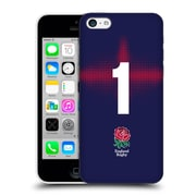 Official England Rugby Union 2016/17 Alternate Kit Position 1 Hard Back Case For Apple Iphone 5C