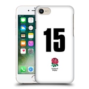 Official England Rugby Union 2016/17 Home Kit Position 15 Hard Back Case For Apple Iphone 7