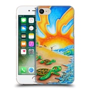 Official Drew Brophy Surf Art 2 Turtle Beach Hard Back Case For Apple Iphone 7