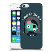 Official Dinomike Fun Illustrations I Woke Up Like This Hard Back Case For Apple Iphone 5 / 5S / Se
