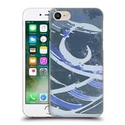 Official Magdalena Hristova Ink Blue 5 Hard Back Case For Apple Iphone 7