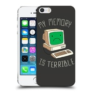 Official Dinomike Fun Illustrations My Memory Is Terrible Hard Back Case For Apple Iphone 5 / 5S / Se