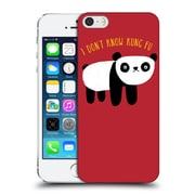 Official Dinomike Fun Illustrations Regular Panda Hard Back Case For Apple Iphone 5 / 5S / Se