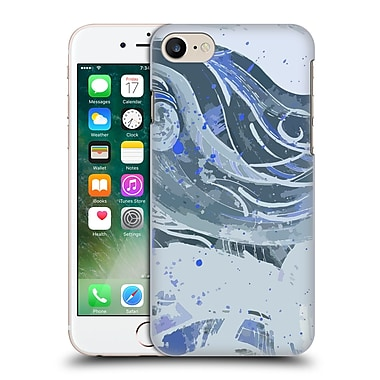 Official Magdalena Hristova Ink Blue Hard Back Case For Apple Iphone 7