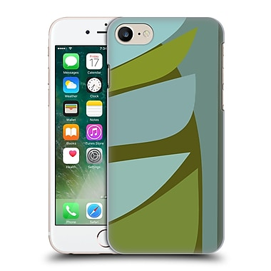 Official Magdalena Hristova Clean Lines 3 Green 6 Hard Back Case For Apple Iphone 7