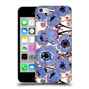 Official Natasha Wescoat Florals Blue Hard Back Case For Apple Iphone 5C