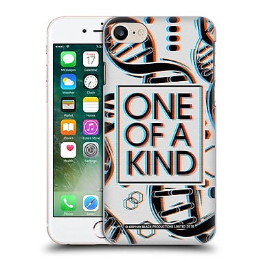 Official Orphan Black One Of A Kind Helix Hard Back Case For Apple Iphone 7