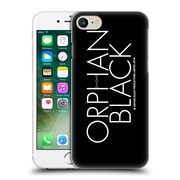 Official Orphan Black Logo & Helix White Logo Hard Back Case For Apple Iphone 7
