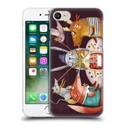 Official Oilikki Animals Fruit Drink Hard Back Case For Apple Iphone 7